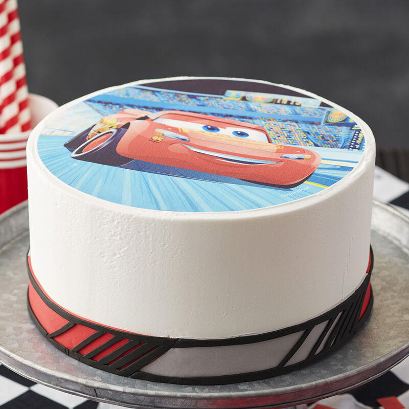 Lightning McQueen Sugar Sheets Cake image number 1