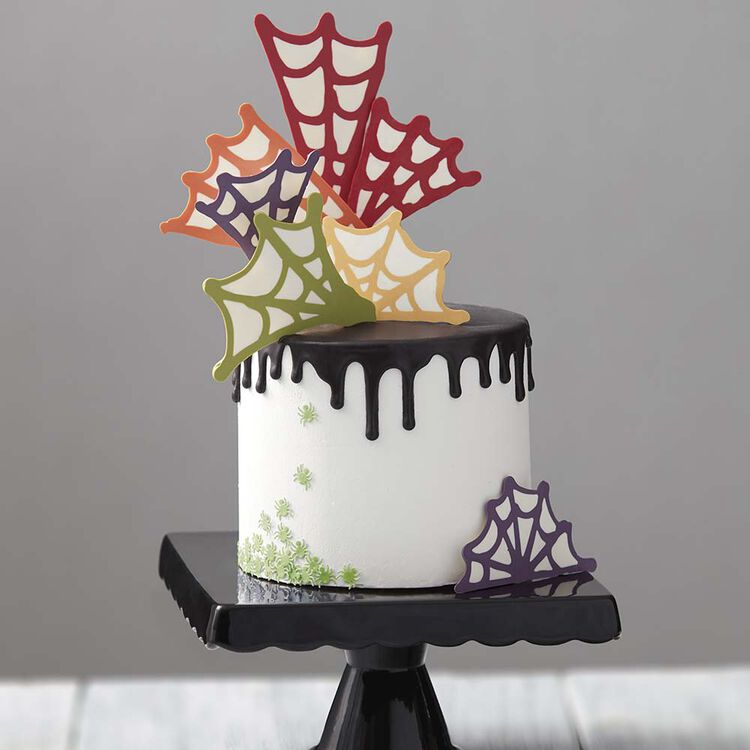 Spinfully Delicious Spider Web Cake