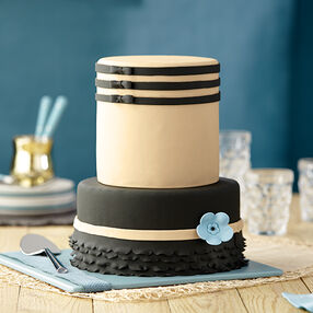 Black Tie Formal Cake
