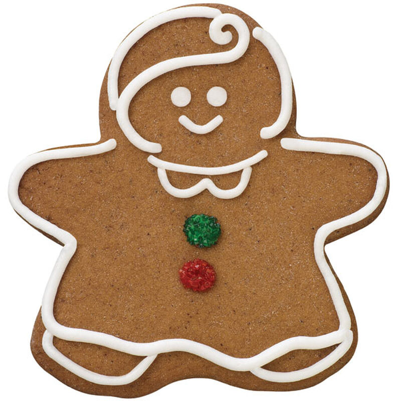 Gingerbread Girl Cookie image number 0