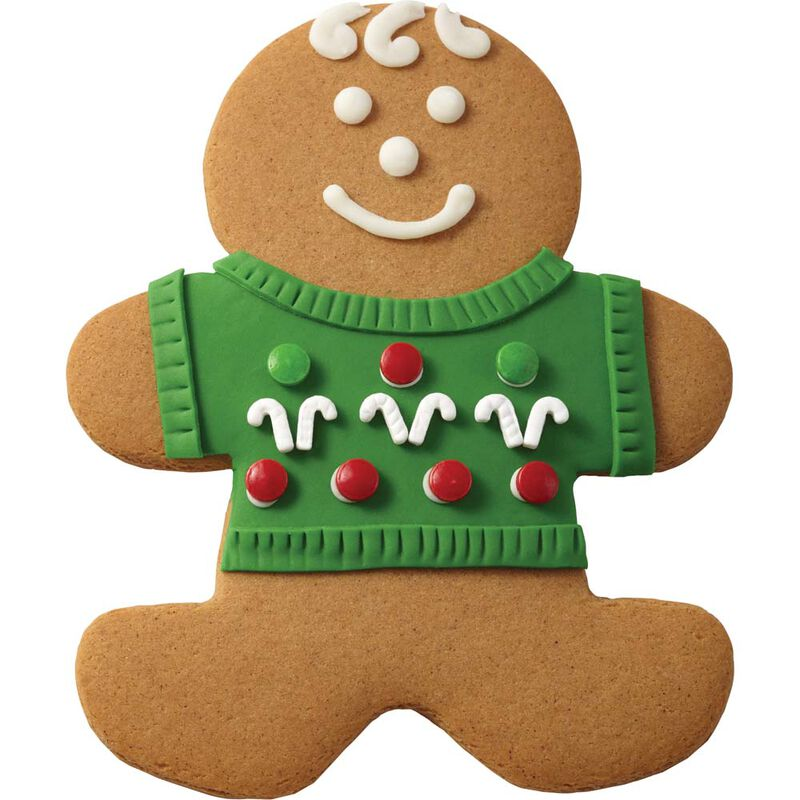 Gingerbread Boy with Candy Sweater image number 0