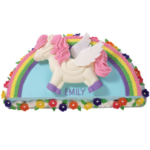 Pegasus Party Cake