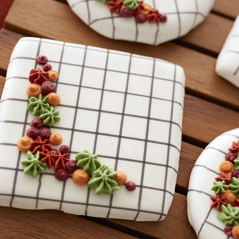 Fall Cookies on the Grid image number 1