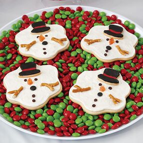 Melted Snowman Cookies Will Melt Their Hearts