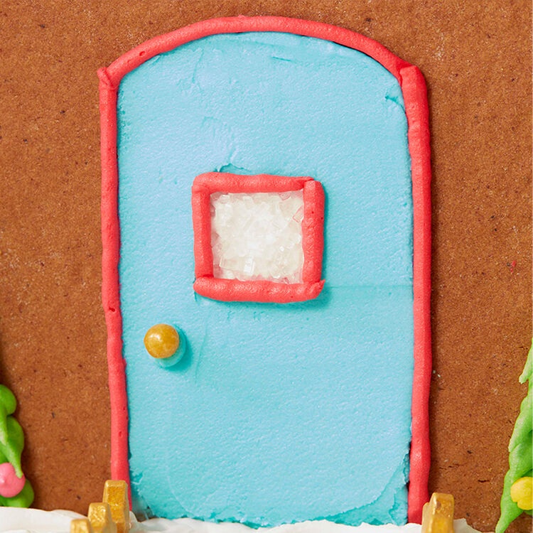 How to Pipe Outlines for Gingerbread