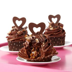 Candy Heart Turtle Cupcakes