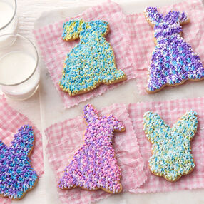 Easter Shaggy Bunny Cookies