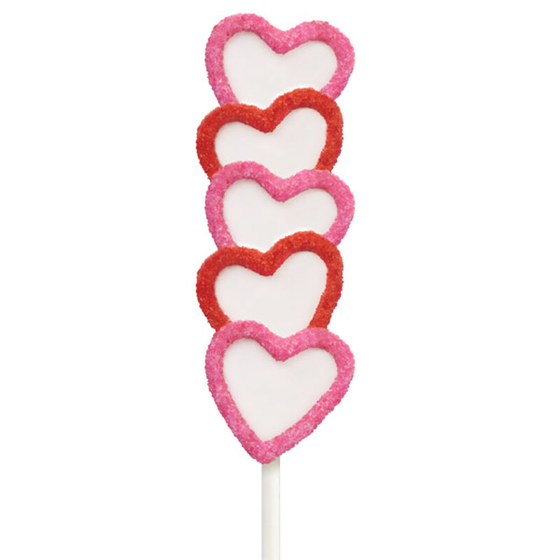 Hearts Afire Cake on a Stick image number 0