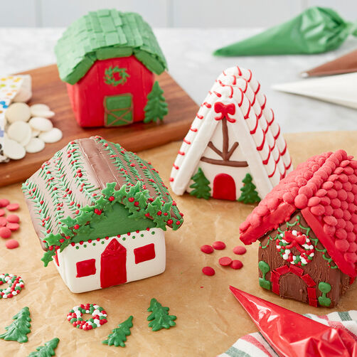 Mini Gingerbread Village with Sweet Tidings