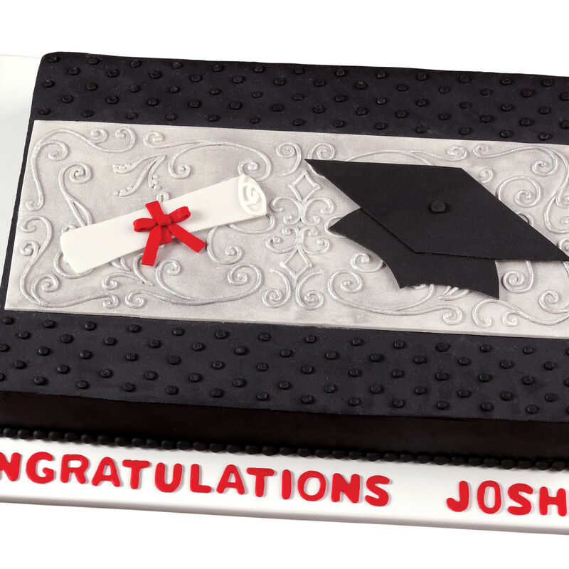 Signs of Success Graduation Cake    image number 0