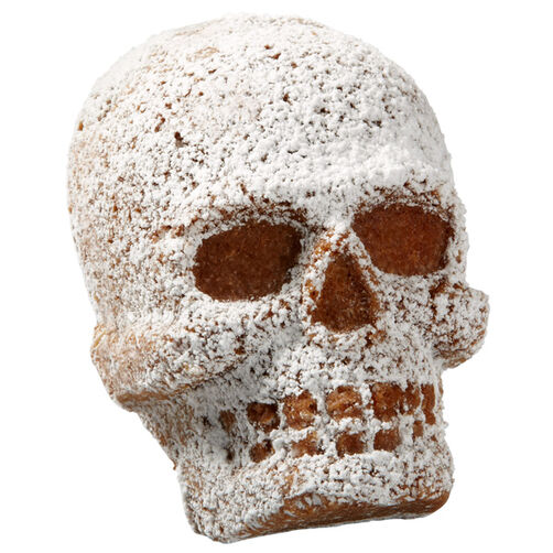 Lightly Sugared Skull Mini Cakes