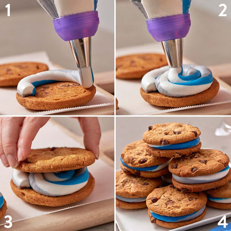 Chocolate Chip Cookie Sandwich Cookies image number 1