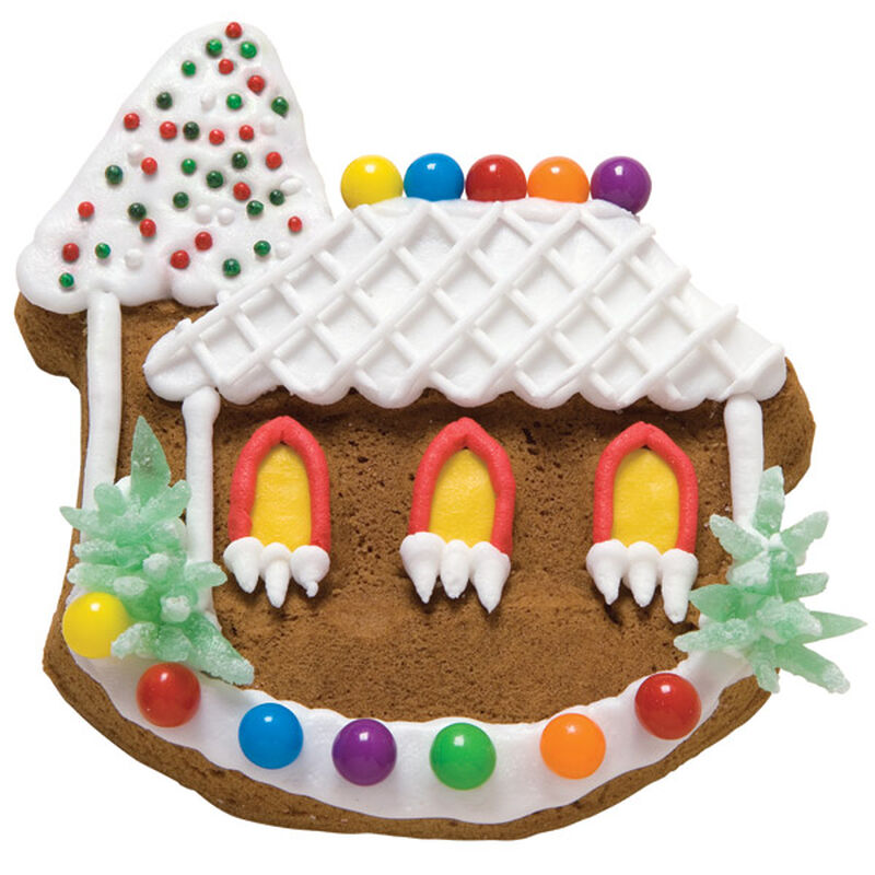 Cape Cod Gingerbread Cookie House image number 0
