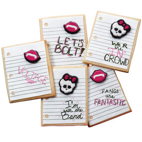 Messages from Monster High Cookies