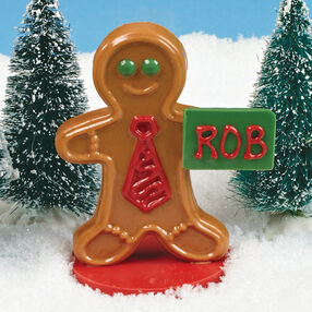 Gingerbread Man Candy Place Card