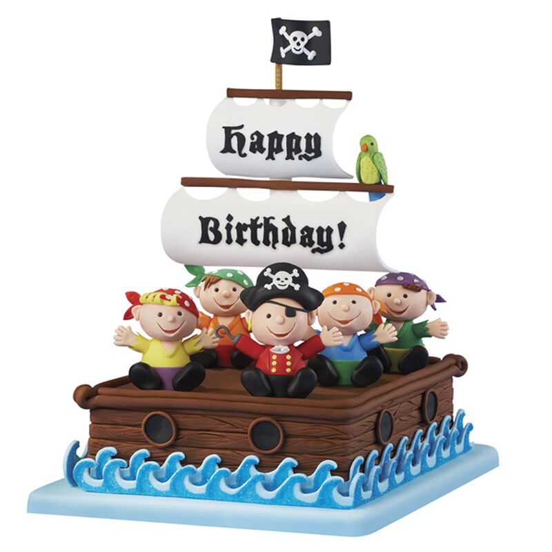Birthday on the Bounty Cake image number 0