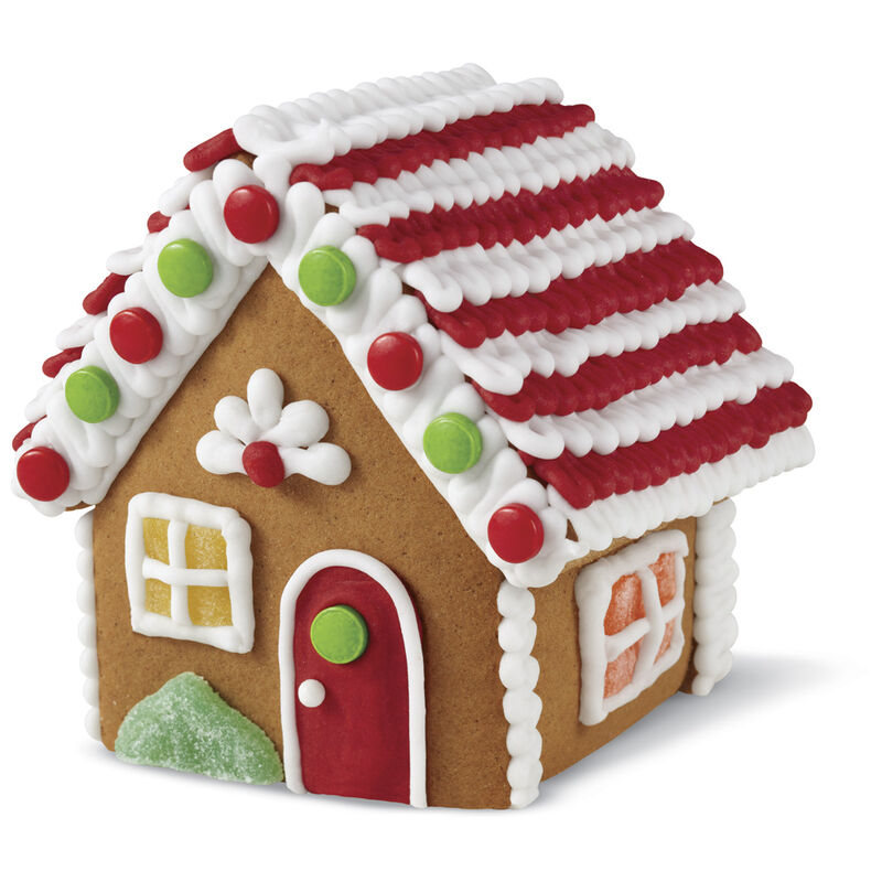 Small Classic Cottage Gingerbread House #4 image number 0