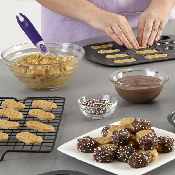 Cookies in the pan: a recipe for those who are too lazy to mess with the oven 4