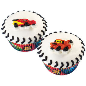 Wheel Cool Cars Cupcakes