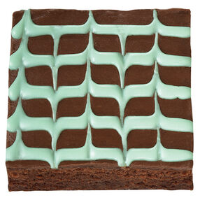 Hint of Mint Brownies