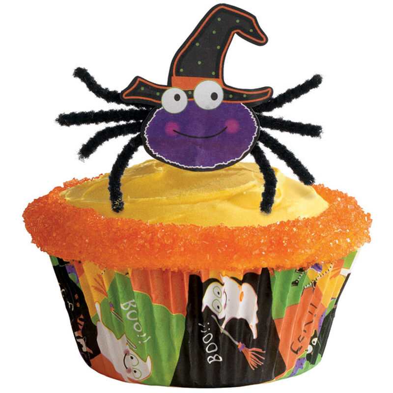 Spider Pick Cupcake image number 0