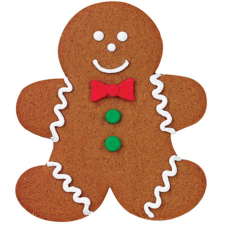 A Real Gingerbread Boy Cookie