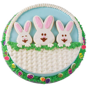 Peeker Cottontails Cake