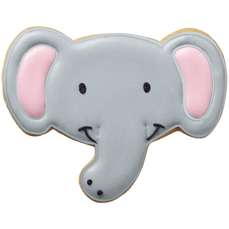 Smiling Elephant Cookies image number 0