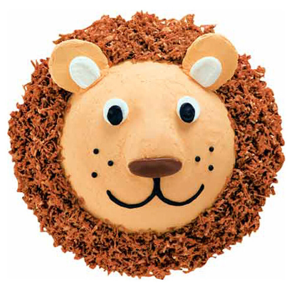 Lovable Lion Cake Wilton