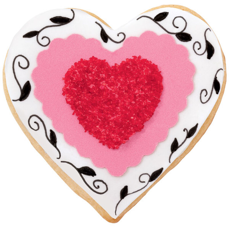 Sparkly Hearts Cookies image number 0