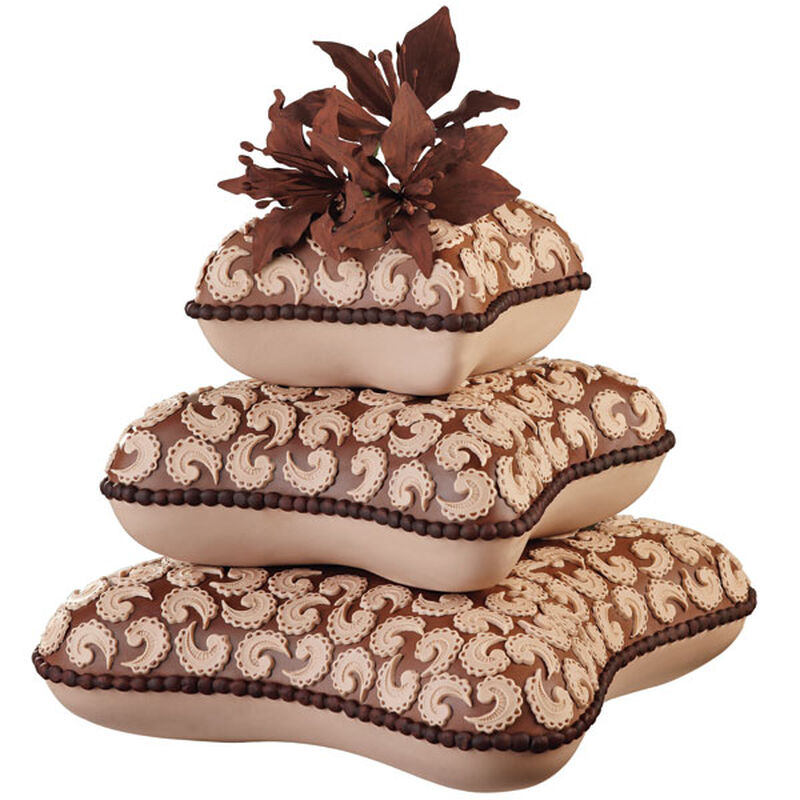 Paisley Pillows Cake image number 0