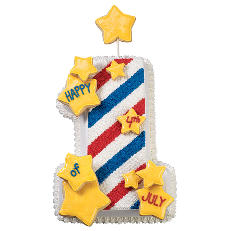 Broad Stripes, Bright Stars Cake image number 0