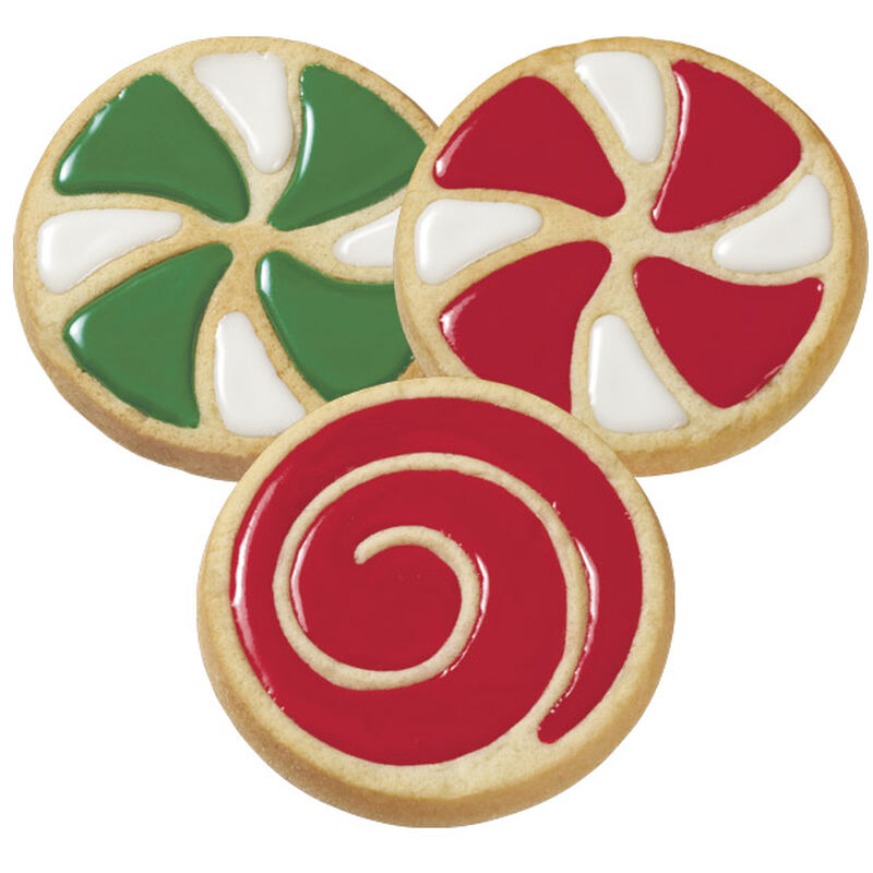 Easy Christmas Swirl Cookies image number 0