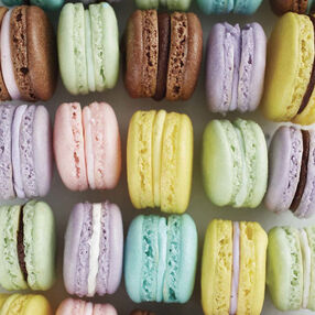 French Macaron Cookies Recipe