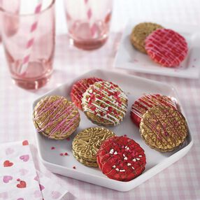 Sprinkled with Love Sandwich Cookies