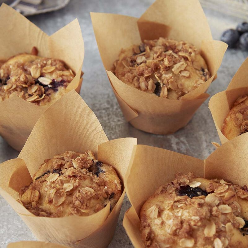 Blueberry Oatmeal Muffins image number 0
