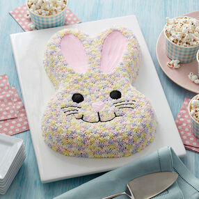 Easter Pastel Bunny Cake