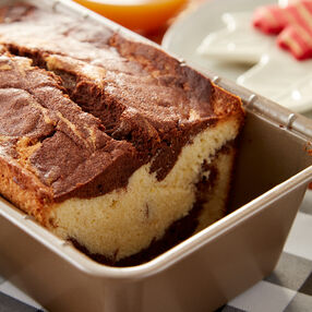 Marbled Pound Cake Recipe