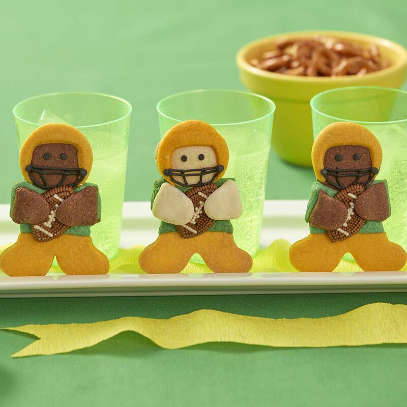 Wilton Gingerbread Boy Football Hero Cookies image number 0