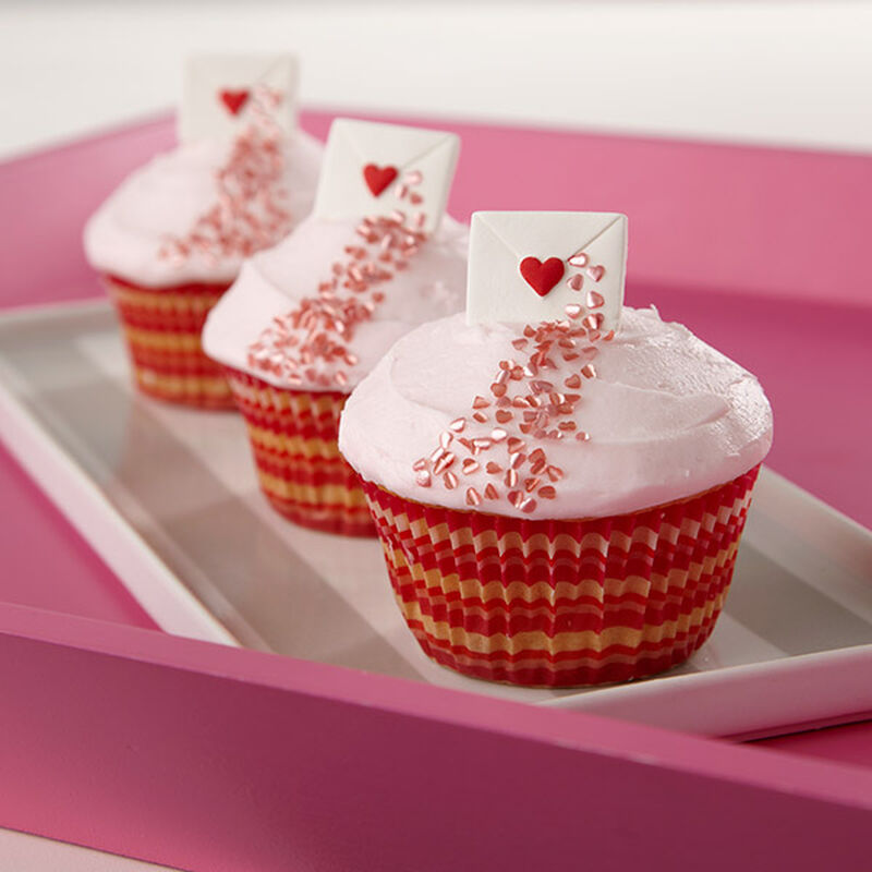 One Sweet Love Letter Cupcakes image number 0