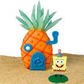 Tropical SpongeBob Mini Cake