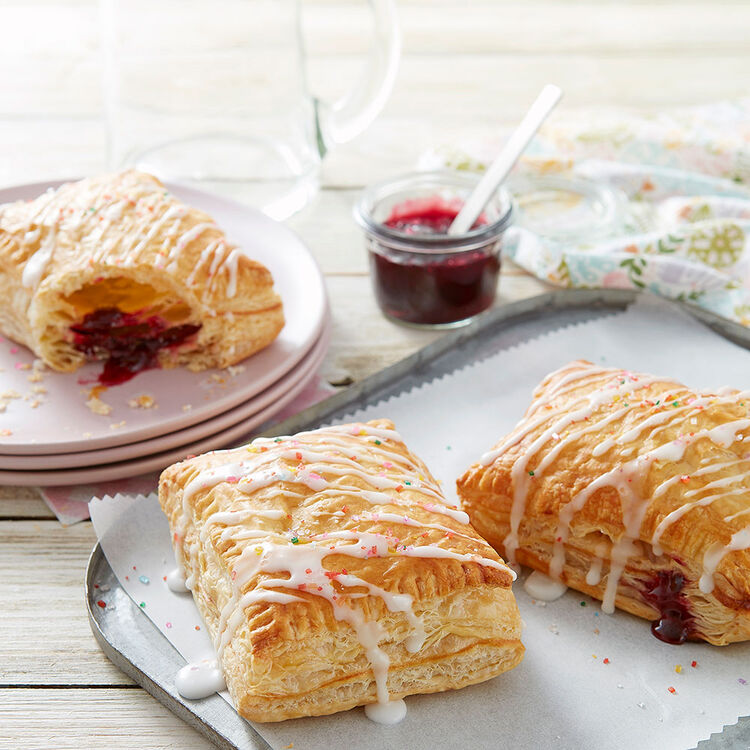 Easy Puff Pastry Fruit Pockets Recipe