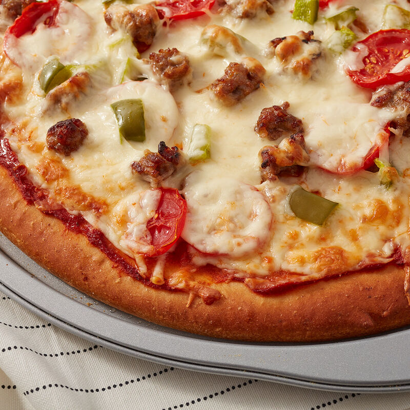 Deluxe Sausage Pizza Recipe image number 1