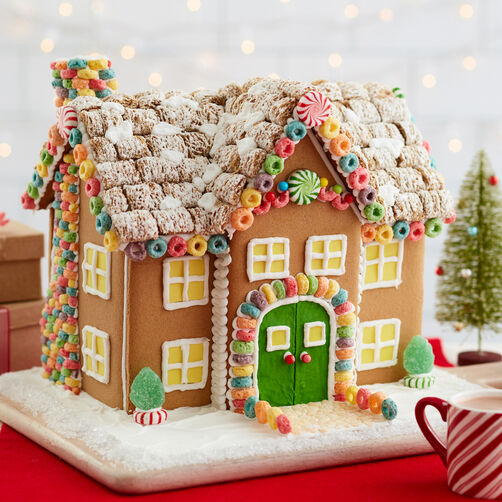 Welcome Home to the Most Amazing Cereal Gingerbread Manor