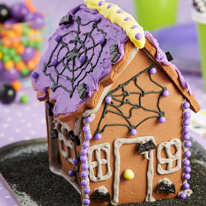 How to Make a Kid-Easy Halloween Cookie House
