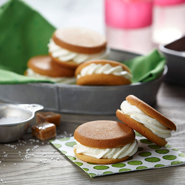 Salted Caramel Whoopie Pies Recipe