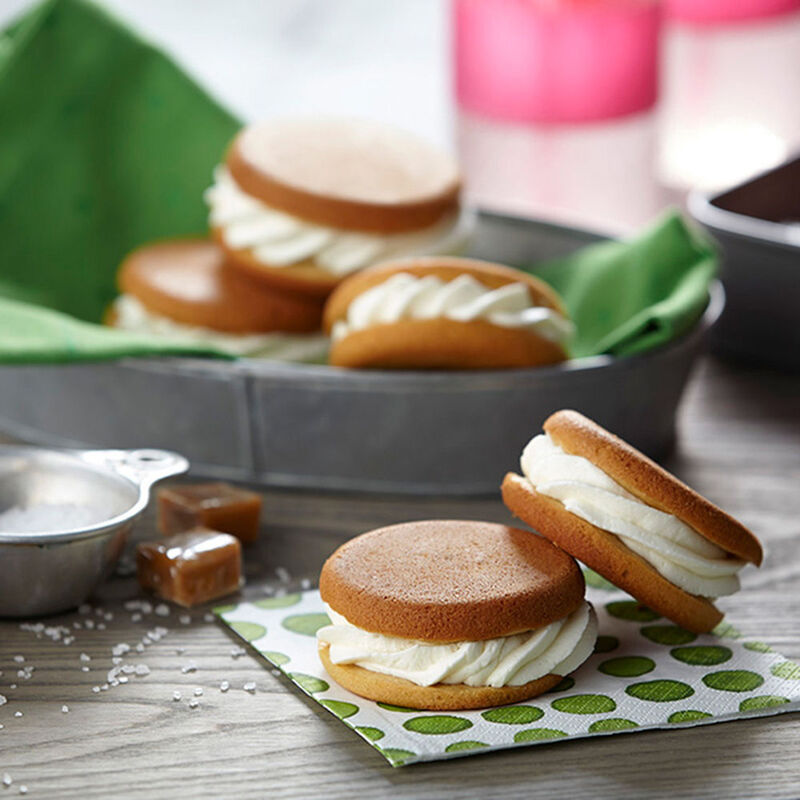 Salted Caramel Whoopie Pies Recipe image number 0