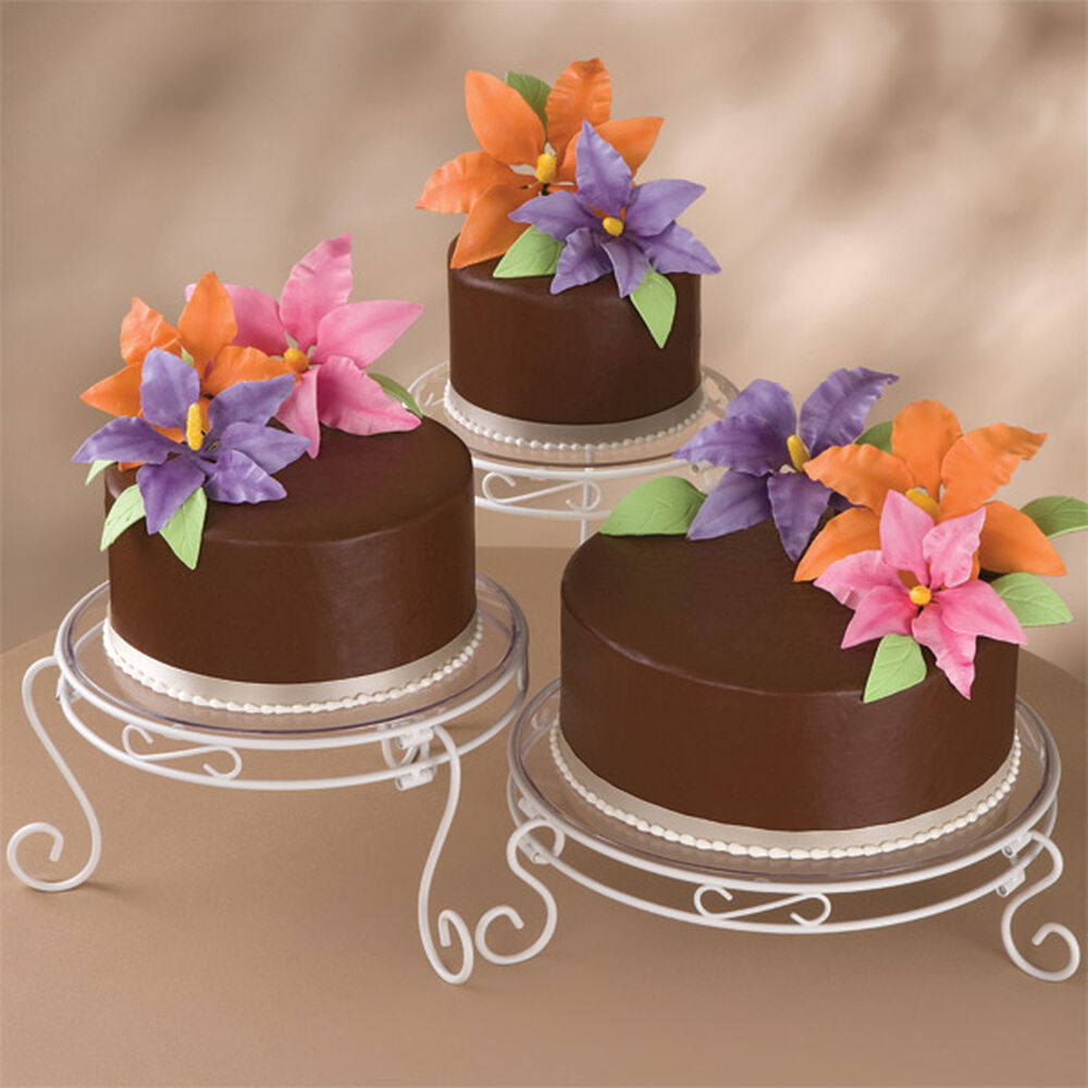 Blossoming Chocolate Trio Cake Wilton