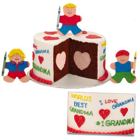 World's Best Grandma Cake