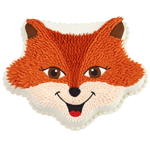 Sly Fox Party Cake Wilton